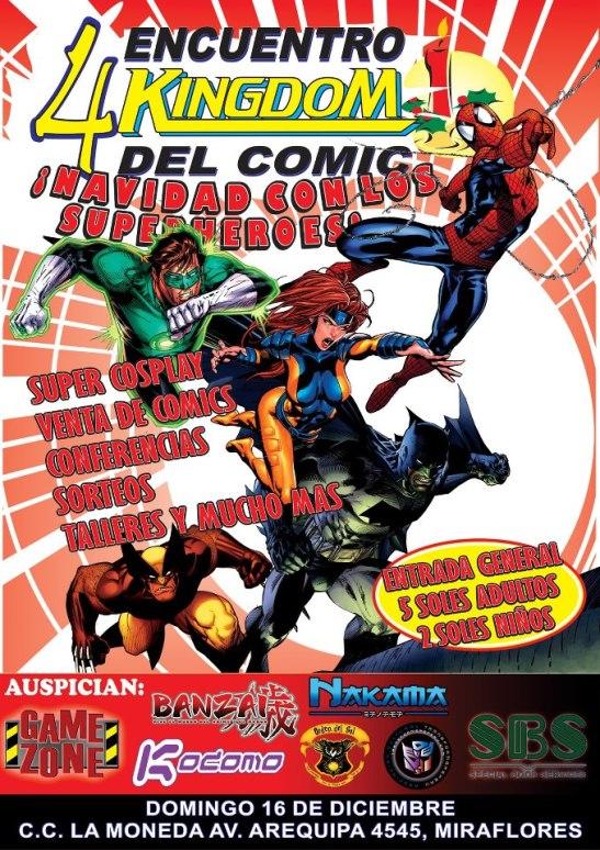 IV Encuentro Kingdom del Comic